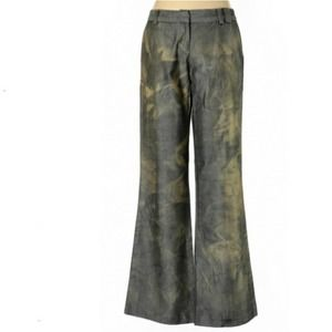 EUC Poleci Anthropologie Marbled Wide-leg Pants